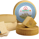 ASIAGO PDO Product of the Mountain Fresh and Mature