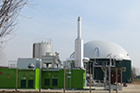 Biogas production plant from buttermilk and dairy by-products (636 kWh)